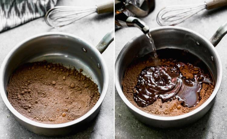 Смешиваем воду с какао: шоколадный сироп для любого десерта