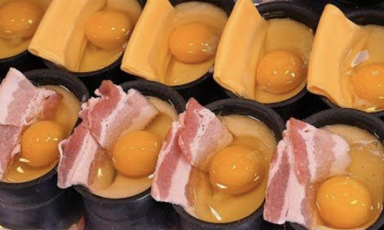 Разбиваем яйцо прямо в тесто и ставим в духовку: гренки за 15 минут