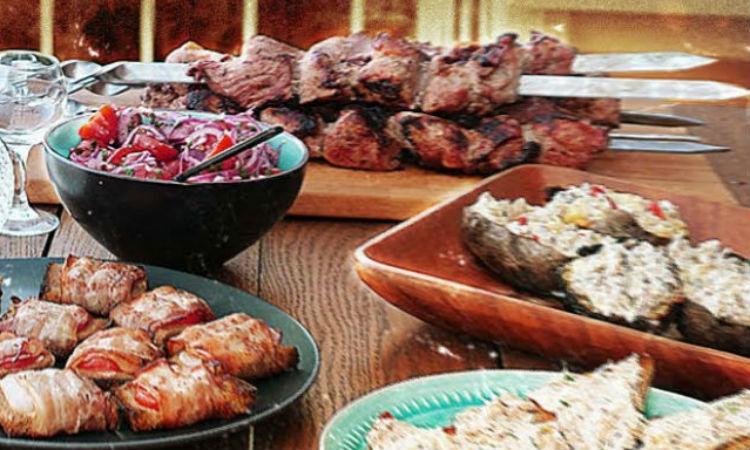 Закуски перед шашлыком: съедают быстрее мяса
